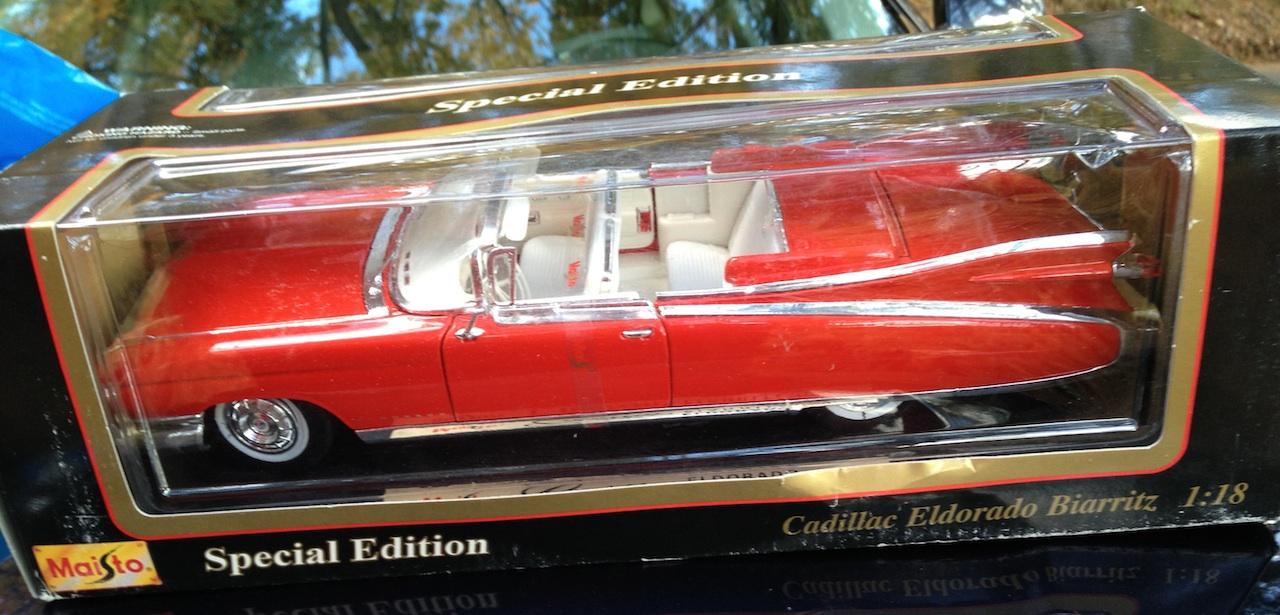 1959 Cadillac Eldorado Biarritz 1:18 Scale Model | Coin Collectors Blog