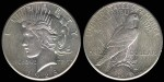 Scott's 1928 Peace Dollar