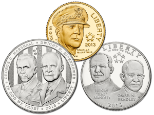 2013 Five-Star Generals Commemorative Coins