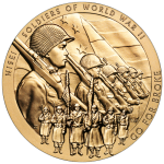 The Nisei Soldiers of World War II Bronze Medal