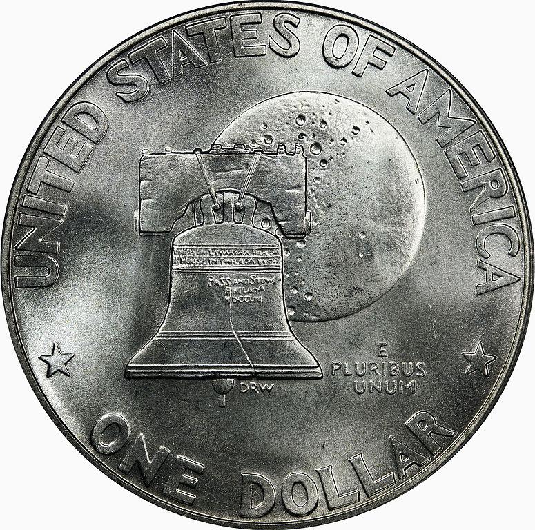 1976 S Type 1 Eisenhower Dollar Reverse Coin Collectors Blog