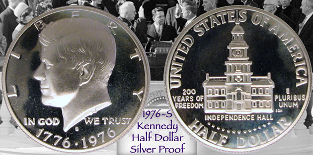 1976 S Jfk Silver Proof Half Dollar Coin Collectors Blog
