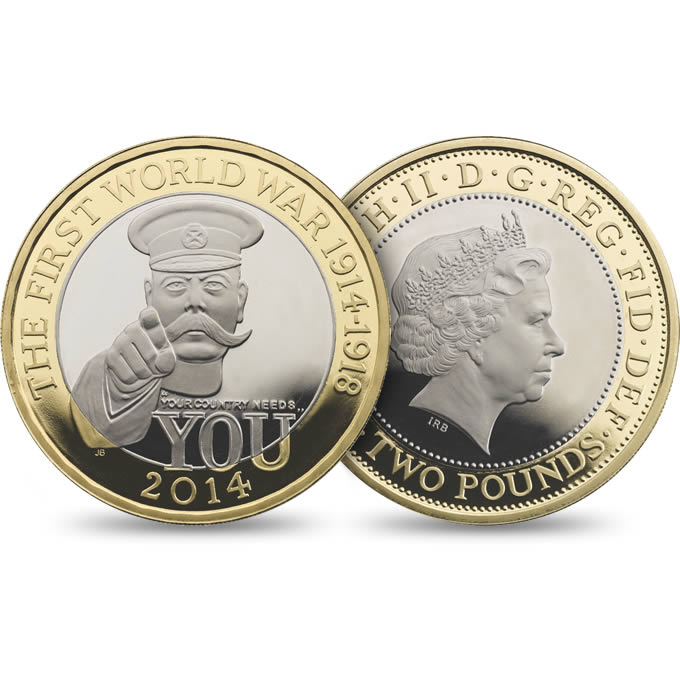 2014 Wwi 2pound Coin Collectors Blog