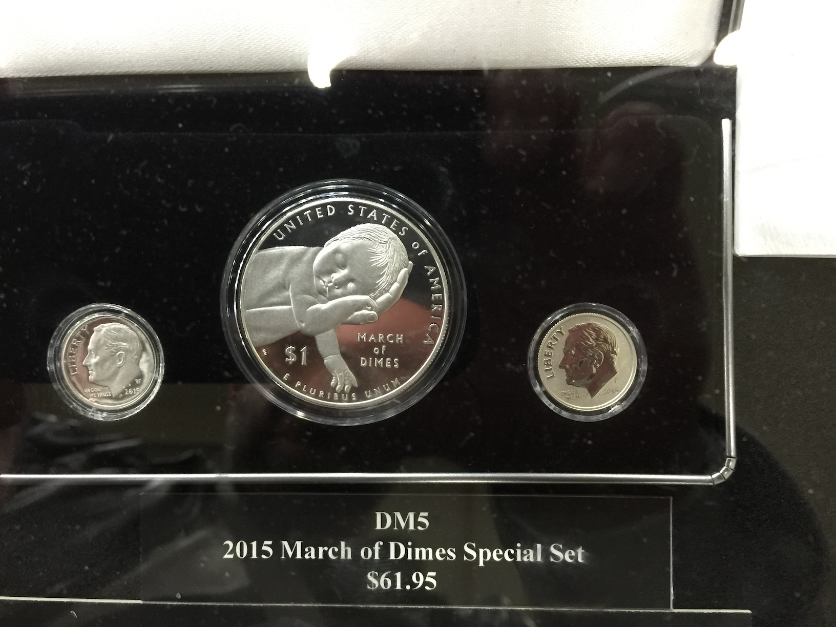 March Of Dimes Proof Set Coin Collectors Blog