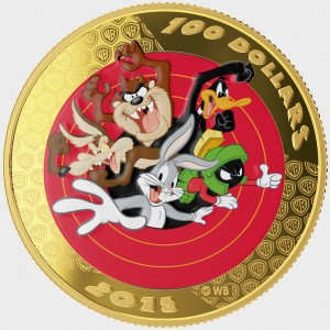 Royal Canadian Mint's $100 Looney Tunes 14-karat Reverse