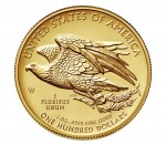 2015 American Liberty High Relief Gold Coin Reverse