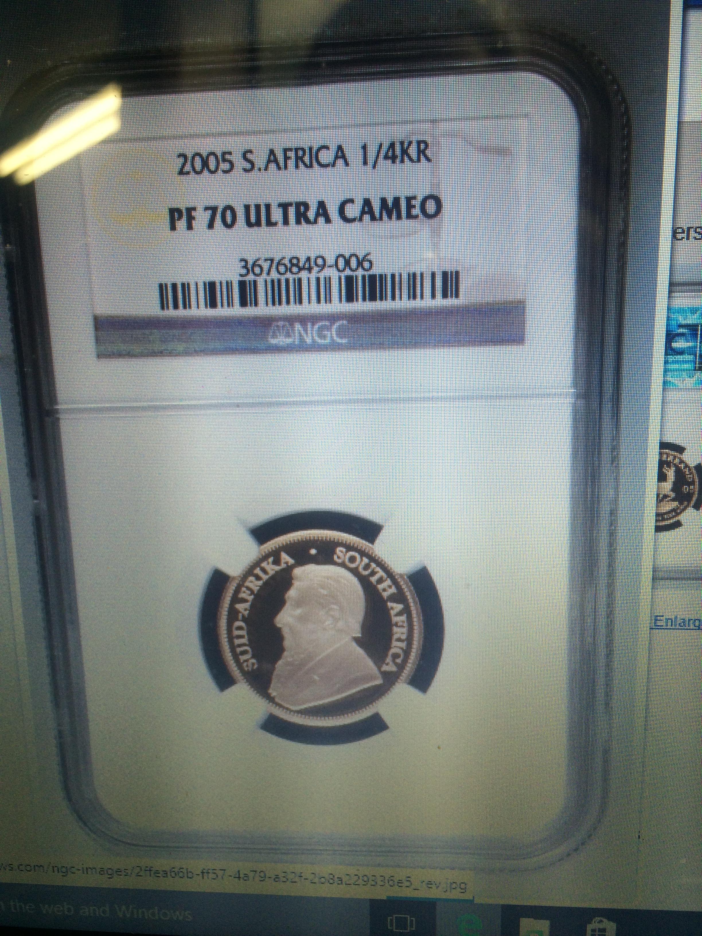 Fake 2005 Krugerrand Coin Collectors Blog