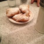 Cafe au Lait and Beignets