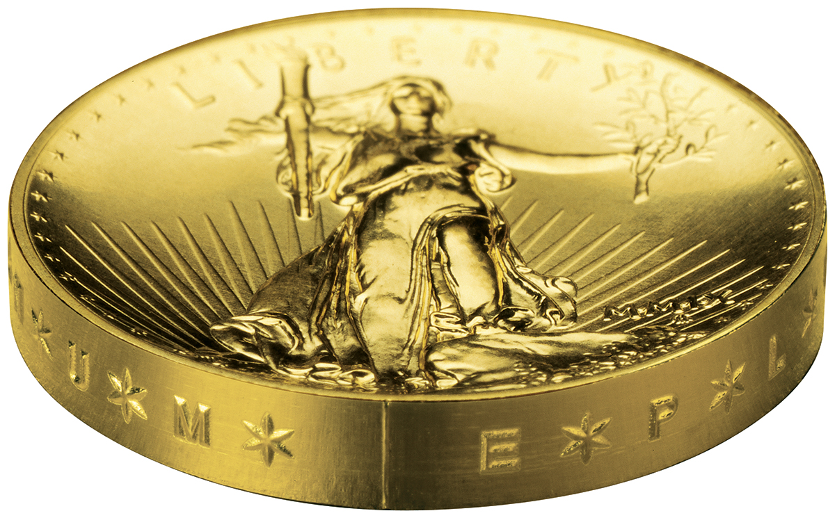 2009 Ultra High Relief Gold Coin Coin Collectors Blog