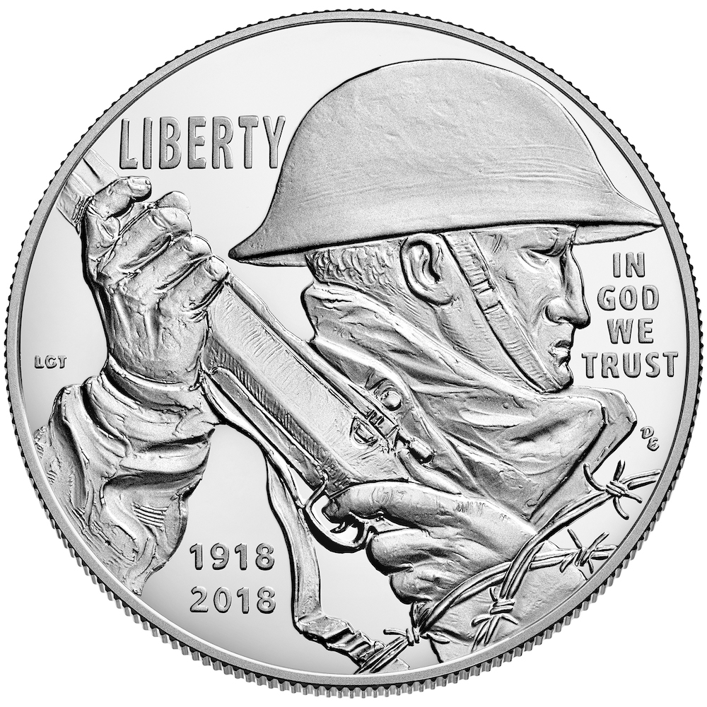 2018 World War One Centennial Commemorative Silver Proof